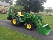1999 John Deere 4400 Loader-Backhoe 4WD 35HP