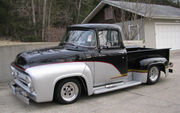 1956 Ford F-100 Big Back Window