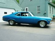1972 Chevrolet Nova Muscle car Classic car Street Rod